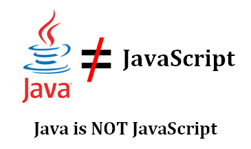 Java-is-not-JavaScript